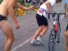 Übergabe an den Radfahrer (Bastian)